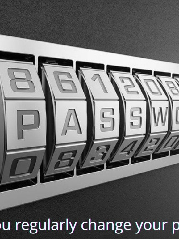 Should you regularly change your passwords